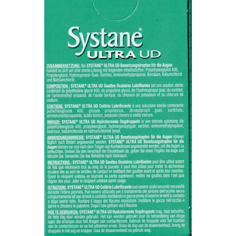 Systane® ULTRA UD, eye drops. Instant refreshment at Lensdeal.