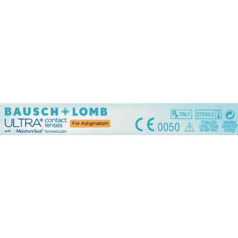 ultra for astigmatism monthly lens by bausch lomb clear view at